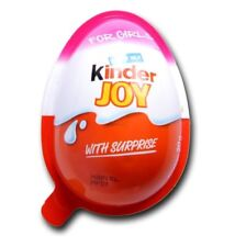 6 PCs OF KINDER JOY EGGS FOR GIRL'S INSIDE CHOCOLATE TOYS- FREE GLOBAL SHIPPING