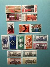 28 DIFFERENT SETS FROM POLAND - ULH - #1240 / 1451