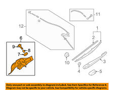 SUBARU OEM 10-12 Forester Wiper-Rear Window Motor 86510SC091