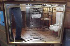 Ancien Miroir Publicitaire Sérigraphie 1992 Domaine de Panery Cotes du Rhône