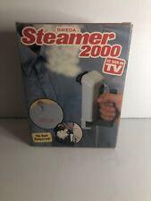 CLOTHES STEAMER-Vintage Sweda Steamer 2000