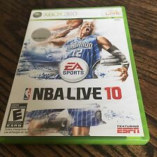 NBA Live 10 Xbox 360 Cib Game Works XG1