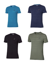 Asics Men's Seamless T-Shirt Short Sleeve Training T-Shirts - New