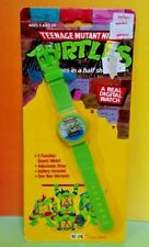 Teenage Mutant Ninja Turtles Vintage TMNT DIGITAL WATCH Hope NEW Sealed Rare
