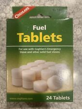 Coghlans Fuel Tablets 24/pk Emergency Stove Camping Hiking Survival