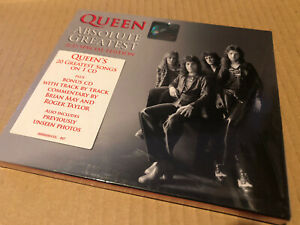 Queen Absolute Greatest Malaysia Import Cd Very Rare Nr Mint Double Cd