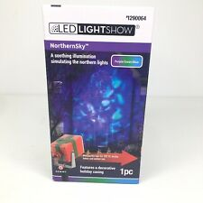 Gemmy LED Lightshow Northernsky Projection Northern Lights Indoor Outdoor