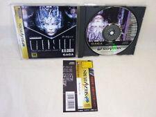 Sega Saturn DARK SEED with SPINE CARD * Import JAPAN Video Game ss