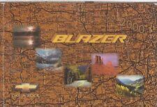 CHEVROLET BLAZER 2- & 4-DOOR ORIGINAL 2000 OWNERS INSTRUCTION MANUAL