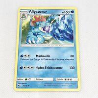 """Carte Pokemon """"ALIGATUEUR"""" - Soleil et Lune 20/73 - Version Française - 160 PV"""