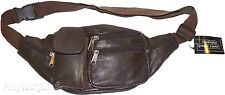 Leather waist pouch. waist bag, leather bag, Fanny pack Brand New Lowest Price