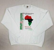 African American Caucus Convention 1997 Vntg SEIU New Orleans MLK Sweatshirt XXL