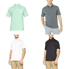 New Under Armour Men's Charged Cotton Scramble Short Sleeve Golf Polo Shirt