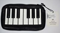 NEW Love Bravery Piano Keys Clutch purse Case Makeup Cosmetic Bag Gaga NWT