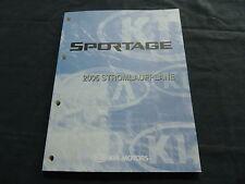 KIA Sportage Modelljahr 2005 Werkstatthandbuch Schaltpläne Stromlaufpläne