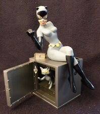 DC DIRECT CATWOMAN STATUE on Safe BATMAN ANIMATED Maquette #2020/2300 lmtd ed.