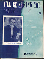 I'll Be Seeing You Closing Theme of Liberace Television/Radio Shows Sheet Music