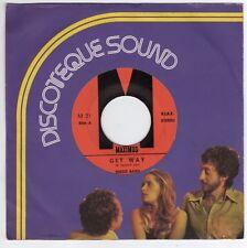 "7"" Disco Band – Get Way / Nice A Slow - Maximus – M 21 M 22 Funk / Soul"