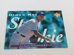 1995 HIDEO NOMO UPPER DECK STAR ROOKIE CARD RC #226 LA DODGERS JAPAN