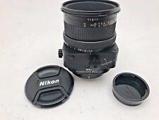 Nikon 85mm F2.8 D PC Nikkor lens