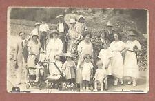 Family Group Outing, Children  Prams, Parasoles  Summer Dresses  Bucket   RK904