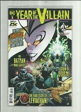 YEAR OF THE VILLAIN  . # 1 . D C Comics.