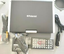 """Polaroid Portable DVD Player 8.5"""" LCD DVD PDM-8551 SIC16758 with remote & case"""