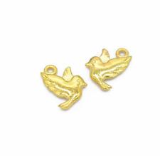 Wholesale 12pcs Tibet silver Peace Bird Charm Pendant beads Jewelry Making DIY ~