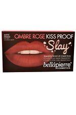 Bellapierre Kiss Proof Lip Kit Ombre Rose Lip Creme Liner Finish