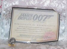 MATTEL JAMES BOND 007 BARBIE & KEN DOLL CERTIFICATE OF AUTHENTICITY COA ONLY
