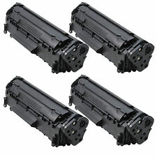 4PK Q2612A 12A Toner Cartridge Fits HP Laserjet 3015 3020 3030 3050 3052 3055