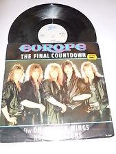 "EUROPE - The Final Countdown - Original 1986 UK Epic label 3-track 12"" Single"