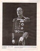 1914 Stampa WWI ~ Admiral Sir John Jellicoe Comandante IN Capo Di Il Gamma