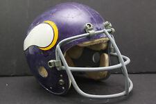 MINNESOTA VIKINGS Marietta Clear Shell Vintage Game Used 1973 Football Helmet