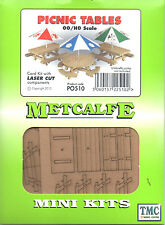PO510 Metcalfe OO/HO Picnic Tables Card Kit