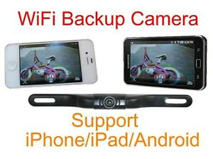 WIFI Backup Camera iPhone IOS Android wireless transmitter Night Vision NEW USA!