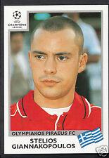 PANINI CALCIO ADESIVO-UEFA CHAMPIONS LEAGUE 1999-00 - N. 182-OLYMPIAKOS