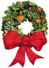 30 Custom Vintage Wreath Personalized Address Labels