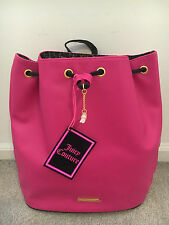 """New Juicy Couture Women Pink Backpack 12""""L x 6""""W x 13""""H"""