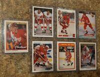 (7) Sergei Fedorov 1990-91 O-pee-chee Premier Upper Deck Rookie Card lot RC HOF
