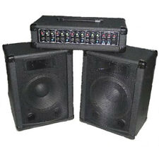 4 Kanal Gesangsanlage - PA System, Echo, 200W + 2 Boxen