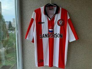 Southampton Home football shirt 1997/1999 Jersey Size XL PONY Soccer Camiseta