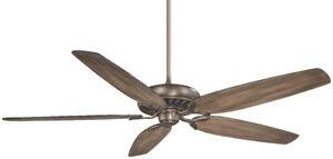 """Minka Aire Great Room 72"""" Ceiling Fan - Heirloom Bronze"""