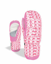 Level Handschuh  Rainbow Down JR Mitt pink wasserdicht atmungsaktiv