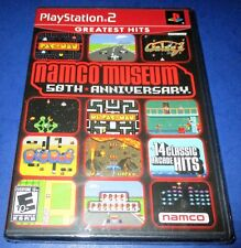 Namco Museum 50th Anniversary Sony PlayStation 2 *Factory Sealed! *Free Ship!