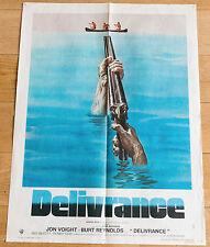 Affiche de cinéma : DELIVRANCE de JOHN BOORMAN