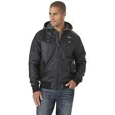 Men's Rocawear Jacket with Fleece Hood Black 2XL #NJG15-507