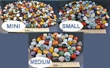 1 KG Edelsteine/Halbedelsteine+NATURMIX I+BUNT+MINI--in 3 Größen erhältlich