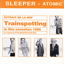 CD CARTONNE CARDSLEEVE COLLECTOR SLEEPER ATOMIC 1T BO FILM TRAINSPOTTING NEUF