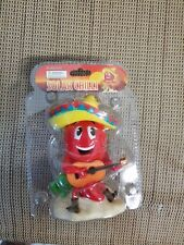 Solar Power Dancing Toys Spainish Mexican Chilli & Mariachi band member